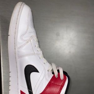 "Jordan Shoes - Jordan 1 mid ""black/ gym red"""